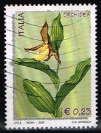 Italien 2002,Michel# 2874 O Cypripedium Calceolus - 2001-10: Used