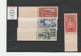 MAROC**LUXE N° 200/303 COTE 24.00 - Maroc (1891-1956)