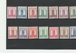 MAROC**LUXE N° 204/222 COTE 9.20 - Maroc (1891-1956)