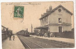 Ecuisses. Les Sept écluses. La Gare. (1915-1920)  Cp197 - Altri Comuni
