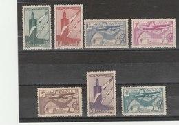 MAROC**LUXE N° PA 43/49 - Maroc (1891-1956)
