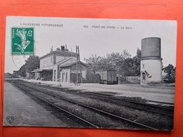CPA (63) Pont De Dore.La Gare. (N.1336) - Autres Communes