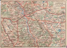 "CPFM Neuve ""les Cartes Du Front"" Verdun - WW I"