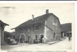 Saint Jean De Gonville , Hotel Restaurant Demornex Et Centre Du Village St Jean - Autres Communes