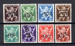724o/724v MNH** 1946 - Heraldieke Leeuw Belgique - België - 1946 -10%