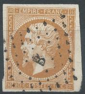 Lot N°53973   N°13Ac Bistre Brun, Oblit Losange B De PARIS, Belles Marges - 1853-1860 Napoléon III.