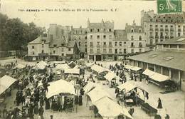 CPA - France - (35) Ille Et Vilaine - Rennes - Place De La Halle Et La Poissonnerie - Rennes