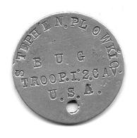 14/18 ARGONNE  Médaille D'identification US - 1914-18