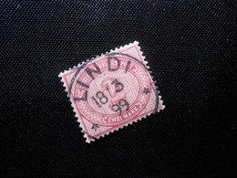 """DR Mi V 37e  2M """"Vorläufer""""  Deutsche Kolonien ( Deutsch-Ostafrika ) 1890/99 - Mi 200,00 € - Geprüft Jäschke - (Ri) - Kolonie: Deutsch-Ostafrika"""