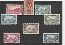 SENEGAL**LUXE N° 179/186 COTE 13.25 - Sénégal (1887-1944)