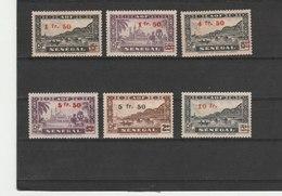 SENEGAL**LUXE N° 189/195 COTE 14.40 - Sénégal (1887-1944)