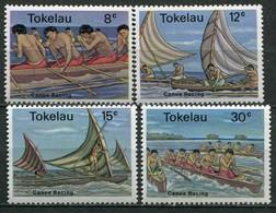 Tokelau Inseln Mi# 58-61 Postfrisch MNH - Ships - Tokelau