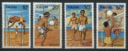 Tokelau Inseln Mi# 70-3 Postfrisch MNH - Sports Volleyball - Tokelau