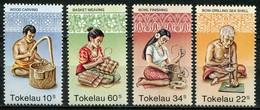 Tokelau Inseln Mi# 74-7 Postfrisch MNH - Handcrafts - Tokelau