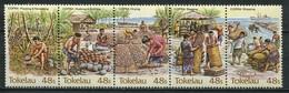 Tokelau Inseln Mi# 96-100 Postfrisch MNH - Fauna Copra - Tokelau