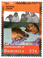 DOMINICA - 1v - MNH** - Mahatma Ghandi Assassination - Gandhi - India - Celebrities Non Violence Mord Asesinato - Mahatma Gandhi