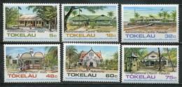 Tokelau Inseln Mi# 117-22 Postfrisch MNH - Buildings - Tokelau