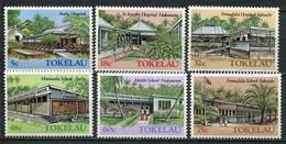 Tokelau Inseln Mi# 123-8 Postfrisch MNH - Buildings - Tokelau