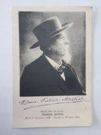 Autographe De La Veuve De Fredéric Mistral Sur Carte Postale - Maillane ... Lot80 . - Autographes
