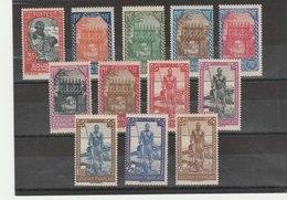 SOUDAN**LUXE N° 110/121 ET 131/132 - Soudan (1894-1902)
