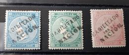 Antillas N13A/15A - Cuba (1874-1898)