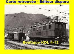BVA 639-01 - Train - Loco T 8 En Gare - SAINT-GEORGES DU COMMIERS - Isère - SGLM - France