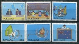 Tokelau Inseln Mi# 153-8 Postfrisch MNH - Political UNO - Tokelau