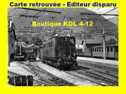 BVA 639-02 - Train - Loco T 8 En Gare - SAINT-GEORGES DU COMMIERS - Isère - SGLM - France