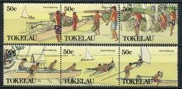 Tokelau Inseln Mi# 165-70 Postfrisch MNH - Ships - Tokelau