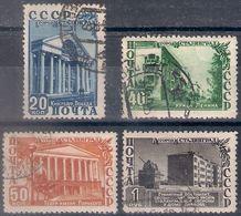 Russia 1950, Michel Nr 1480-83, Used - 1923-1991 UdSSR