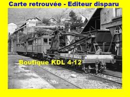 BVA 639-03 - Automotrice A 1 Et Train Grue En Gare - SAINT-GEORGES DU COMMIERS - Isère - SGLM - France
