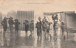 56 QUIBERON     Grande Marée     TB  PLAN   PAS COURANT - Quiberon