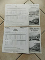 Lotto 2 Orario Ferrovia Mesolcinese Svizzera - Europe