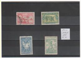 BRESIL 1900 YT N° 112 à 115 . - Brésil