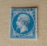 RARE LOSANGE PC 3938 DE LAPPUIE IND 20 - 1853-1860 Napoléon III
