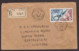 Wallis E Futuna, Raccomandata Per La Scozia Del 1968 Con Bella Affrancatura   -CL98 - Covers & Documents