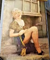Rare Grande Affiche Marylin Monroe  97 X 68 Cm - Affiches