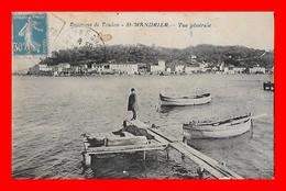CPA (83) SAINT-MANDRIER.  Vue Générale...S2343 - Saint-Mandrier-sur-Mer