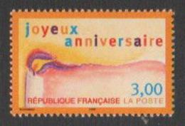 France Neuf Sans Charnière  1998  Souhaits  Joyeux Anniversaire   YT 3141 - Francia