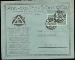 01510 DR Firmenwerbe Brief Gera - Greiz 1924 - Brieven En Documenten