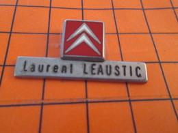 920 Pin's Pins / Beau Et Rare / THEME : AUTOMOBILES / CITROEN EMPLOYé LAURENT LEAUSTIC - Citroën