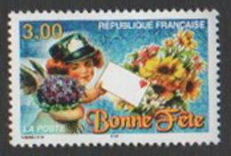 France Neuf Sans Charnière  1998  Souhaits  Bonne Fête  Bouquet  Lettre    YT 3133 - Francia