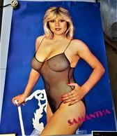 Rare Grande Affiche Samantha Fox 98 X 68 - Posters