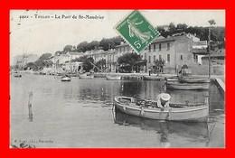 CPA (83) TOULON.  Le Port De St-Mandrier, Pêcheur En Barque...S2345 - Toulon