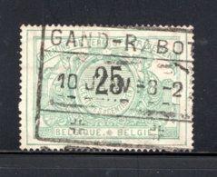 TR18 Gestempeld 1895-1902 - Zelfde Type Als Vorige Met Tweetalige Tekst - Bahnwesen