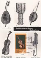 Carte Maximum  Musique Allemagne DDR 1972 Violon 1972 - [6] République Démocratique
