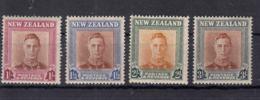 New Zealand 1947 King Georg VI Mi#295-298 Mint Never Hinged - Unused Stamps