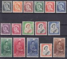 New Zealand 1953 And 1957, Queen Elisabeth II Mi#332-345 Mi#366-367 Mint Hinged - Unused Stamps