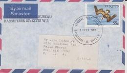 St. Kitts Cover/postcard, Stamps, (good Covers - 21) - St.Kitts En Nevis ( 1983-...)