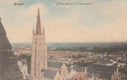 Bruges. Notre-Dame Et Panorama. Nels Couleurs - Brugge